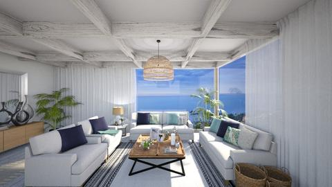 Beach House - Living room - by mrusso0
