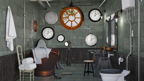 Steampunk Bathroom - Bathroom - by ArtHousedeco