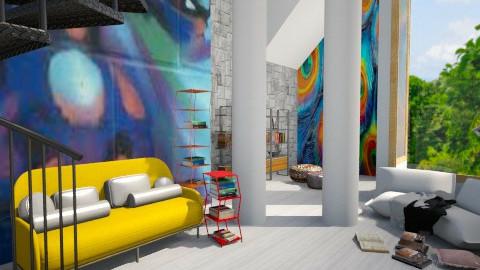 Graffiti Getaway Room - by Sarah Canham