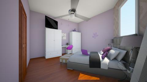 purple rain - Bedroom - by soulsistakeke