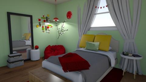 Friday design 1 - Bedroom  - by amiehall