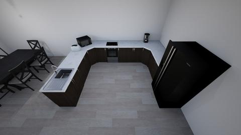 kitchen - by sanjj