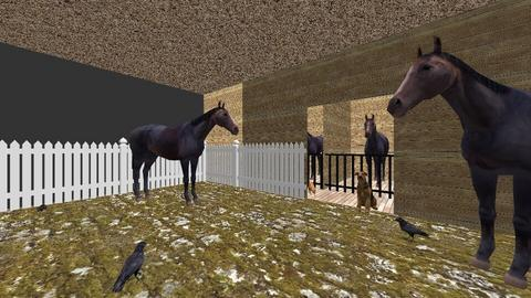 Horse Stable  - Country - by Pheebs09