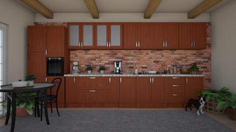 Stone Kitchen - Kitchen  - by M_L_A