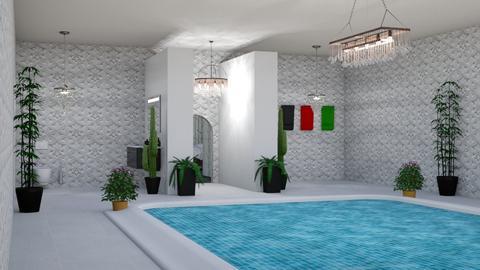 Roman Bathroom - Bathroom - by tompert