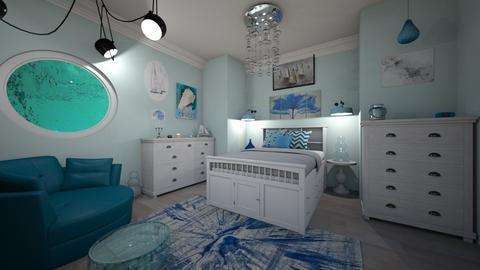Nautical Bedroom - Bedroom  - by laurenpoisner