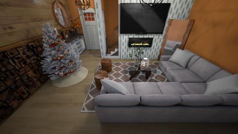 Holiday Lodge - Living room  - by Daively__1000