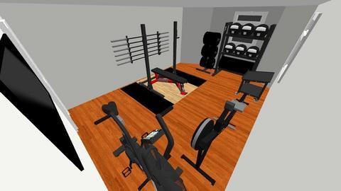 Malden Basement Gym - by rogue_bb77110eeeff70d8e017a5e061980