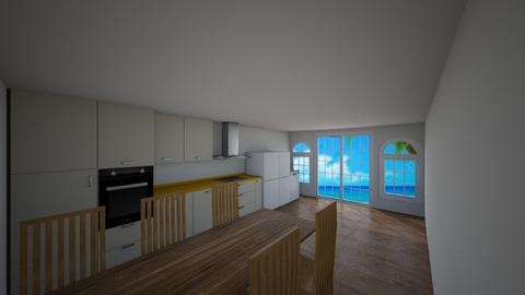 Kitchen on the beachside - Modern - Kitchen  - by YeeterFliesBackwards