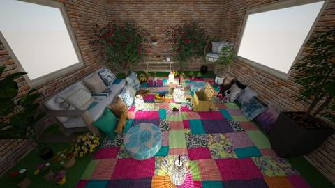 inside picnic vibes - Living room  - by L2021