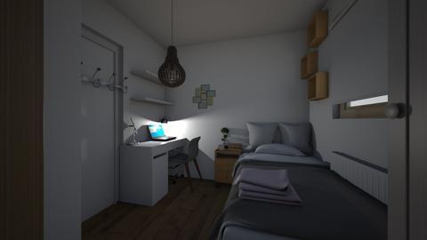 bedroom - Minimal - Bedroom  - by bangtanboys2013