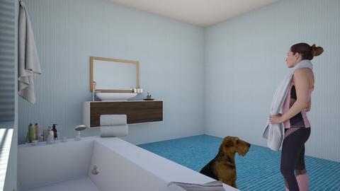 Bathroom  - Bathroom  - by Unimermaid22