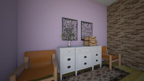 friends apartment - Retro - by ameliagloriosa