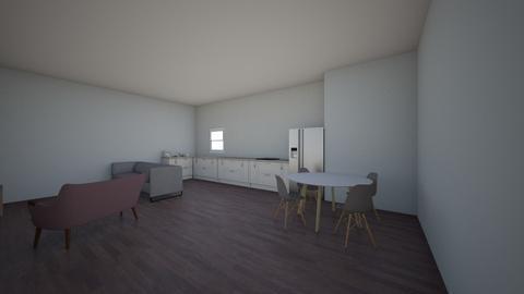 kitchen_living room - Classic - Kitchen  - by hcbhcgygchbhbygbjygchg