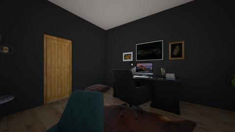 My office - Office  - by paigebarkley