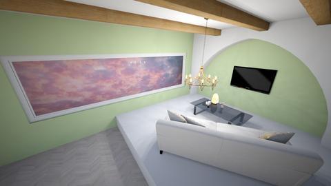 Scandinavian living room - Retro - Living room  - by Margaret Horsman