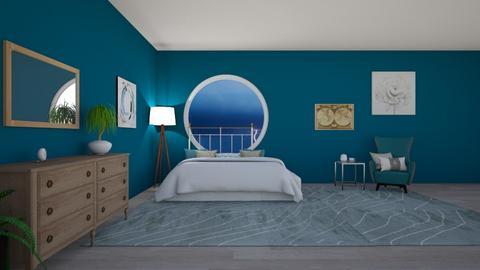 blue lightning - Eclectic - Bedroom  - by aschaper