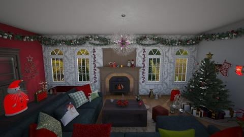 Christmas time is here - Living room  - by JazzyMarie3339