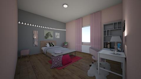teenages bedroom - Modern - Bedroom  - by Zanri