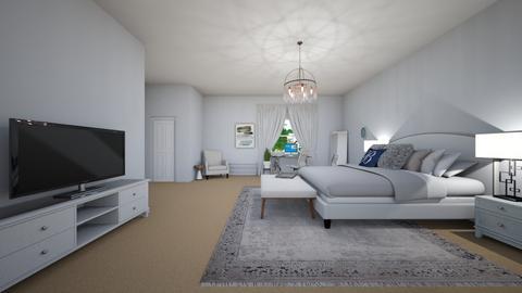 My mom said make a room - Bedroom  - by Zaria UwU
