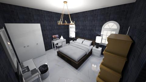 Scott Bedroom - Modern - Bedroom  - by alizascott