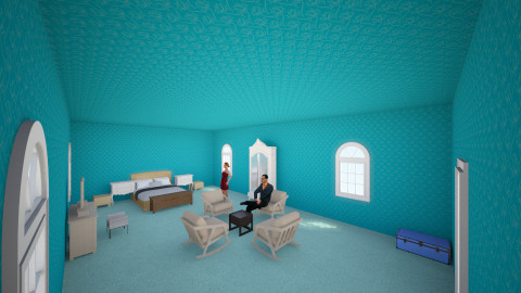 blue sea - Global - Bedroom - by fabulous_designs