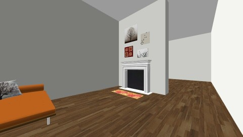 Fall contest - Living room - by Megan Kndsen