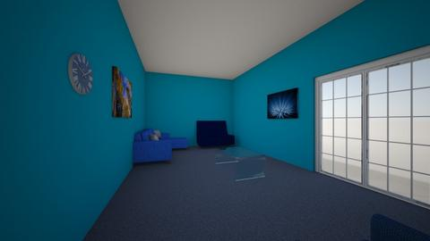 blue room - Living room  - by ethanheller
