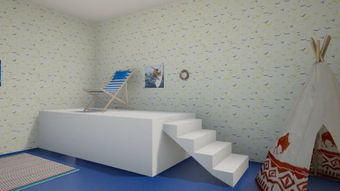 kids beach room - Modern - Kids room - by Fayth Doherty