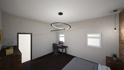 zak room - Rustic - Bedroom  - by zak_wallace