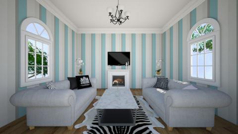 Print - Modern - Living room - by JazzyAllen