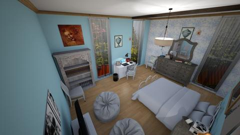 Monserratte 4 - Vintage - Bedroom  - by montoym20