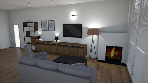 pokoj sierepien plan - Classic - Living room  - by Kika111111