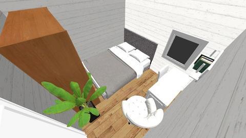 mini room - Minimal - Bedroom  - by longmancity