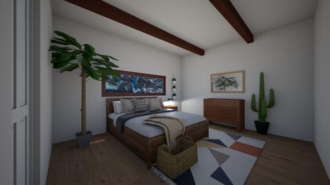 Minimalist Boho - Minimal - Bedroom  - by ClaireCora