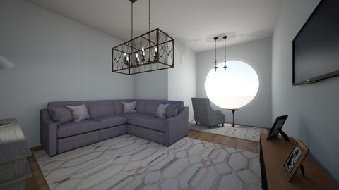 ev1 - Modern - Living room  - by hicran yeniay