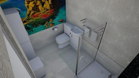 SpgCty Maids Bathroom - Modern - Bathroom  - by alonatech_2nd