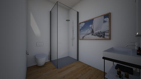 Apt bathroom  - by saratevdoska