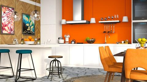 Eclectic Kitchen - Eclectic - Kitchen  - by millerfam