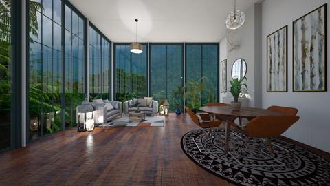 Nancy - Modern - Living room  - by evabarrett