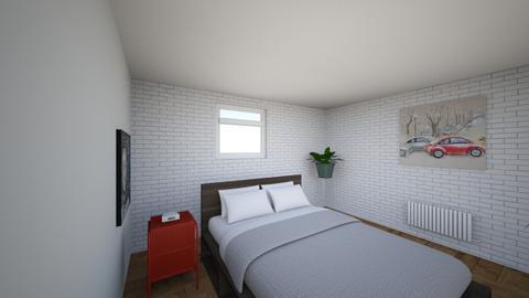 Plan poddasza 7 - Bedroom  - by gabrielasiemiaszko