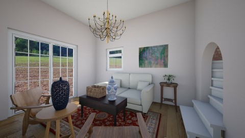 Country living space - Country - Living room  - by Tody12345