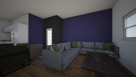 Maria - Living room  - by Djamayra
