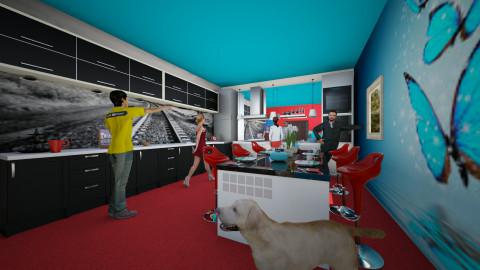 My kitchen 3 - Kitchen - by ery123