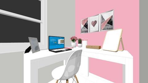 Planejamento de Quarto - Bedroom  - by KauaneVasconcelos