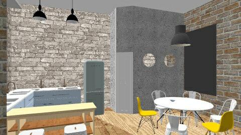 TESLINA 12 8912 - Retro - Kitchen - by novax