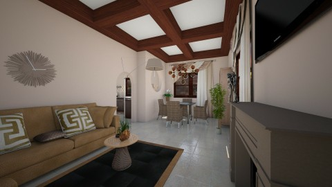 rustico - Rustic - Living room  - by Angela Quintieri