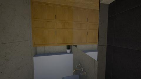 New height split mirror - Bathroom - by RachDyer