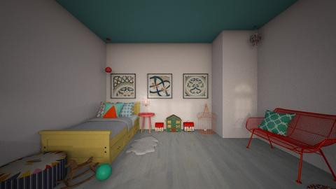 Edith - Kids room  - by blueberry_pie26