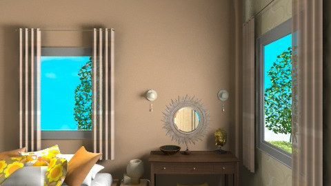 my bedroom14 - Retro - Bedroom  - by orlyme